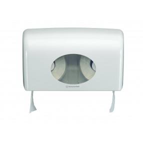 Duo toiletrol dispenser