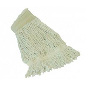Mop 350 gram, met band en gesneden strengen,  zonder klem