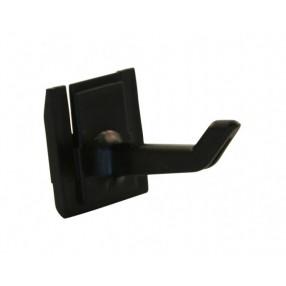 Haak voor rail Toolflex, zwart, 1 stuks