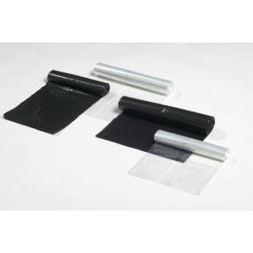 Zwart 50 x 55 cm. 15mµ, 20 rol x 50 stuks (1000 stuks)