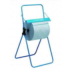Vloerstandaard, blauw metaal, 6154