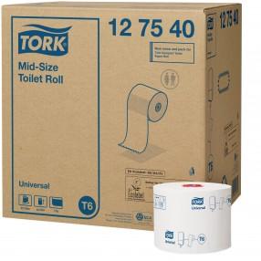 T6 Toiletpapier, 1 lgs, 135 meter, compact, 27 rol