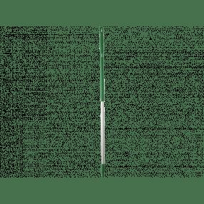 Steel aluminium, 1500 x 32 mm, groen