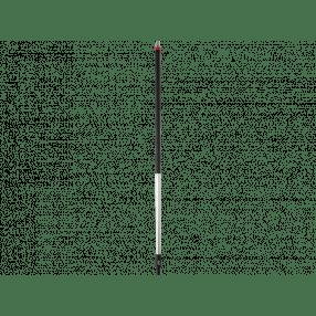 Ergon.steel aluminium, 1500mm, Ø34mm , waterdoorvoer