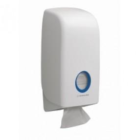 Gevouwen toilettissue dispenser
