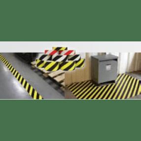 Flexibele vloerbelijning, Hazard, 7,5 x 30 meter