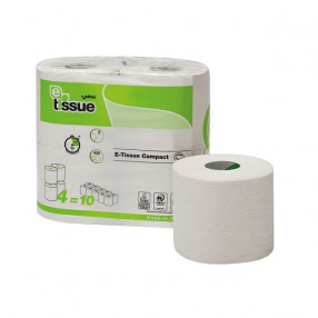 E-tissue Toiletpapier traditioneel, 2 lgs, 60 rol, 44 meter