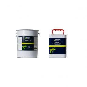 Grijze, egale 2-componenten polyurethaan vloerafwerking