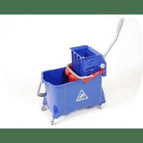 Rolemmer 24/8 liter met vlakmoppers
