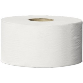T2 Toiletpapier Wit, 1 lgs, 240 meter, 12 mini rollen