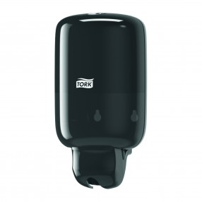 S2 Handzeep- en toiletseatcleaner dispenser, mini, liquid, zwart