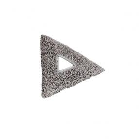 Driehoekig microvezel-reinigings pad