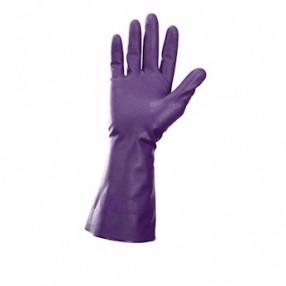 Purple Nitrile, chemical Resistant, G80, 12 stuks, maat 9